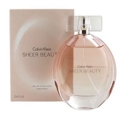 Calvin Klein Sheer Beauty 100ml Eau de Toilette Spray for Women