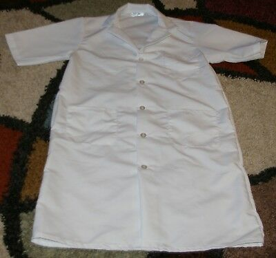Best Medical Woman S/S Button Lab Coat 3 Pocket 42