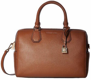 22e3ee27f77e Michael Kors Mercer Pebbled Leather Duffel Bag - Brown for sale ...