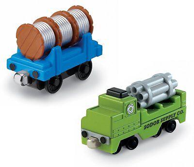Thomas & Friends Take-n-Play SODOR SUPPLY CO Die-Cast Metal Vehicle Set ~ NEW