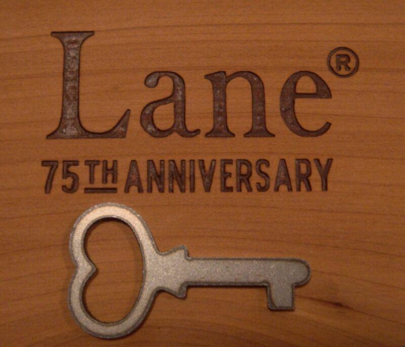 Original Authentic VTG Jewelry Key Lane Miniature Mini Cedar Chest Box *KEY ONLY