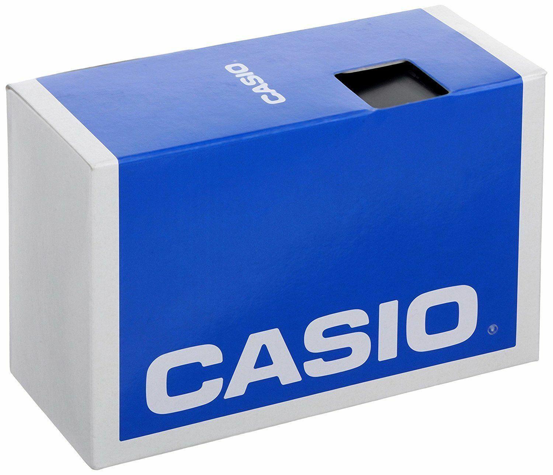Casio Classic Mens Quartz Analog Beige Dial Black Resin Band 35mm Watch MQ249