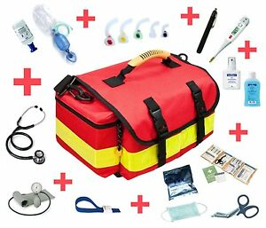 Notfalltasche, Erste Hilfe Tasche, small gefüllt mit Eco-advance Füllung