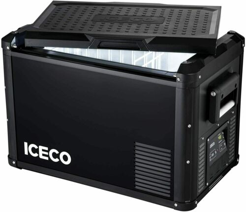 ICECO VL45 ProS Portable Refrigerator 48QT Compact Refrigerator Camping Dual USB