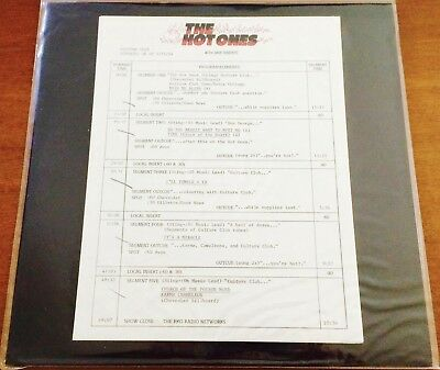 CULTURE CLUB The Hot Ones *RARE 1984 USA RADIO PROMO ONLY DJ VINYL LP Boy George