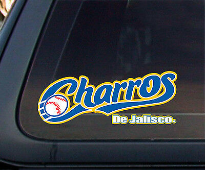 Charros De Jalisco Baseball Car Decal/Sticker Baseball Car Decals