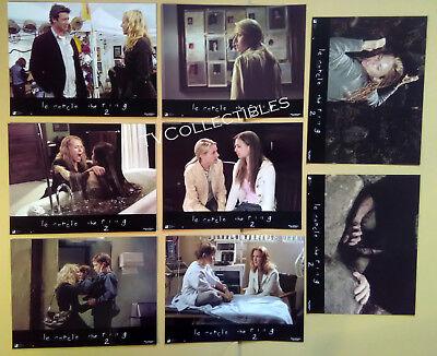 Lobby Card Set~ THE RING TWO ~2005 ~Naomi Watts ~Simon Baker ~David Dorfman