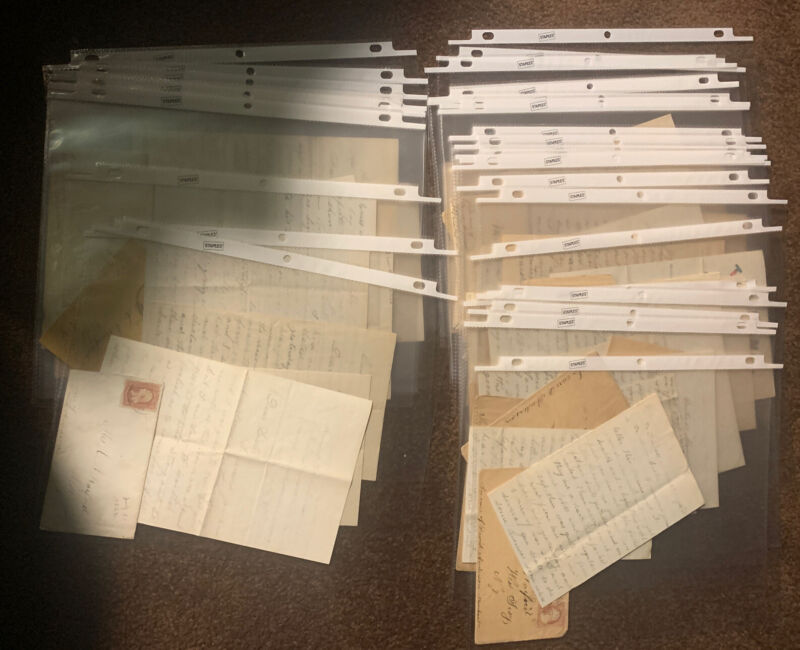30 - Civil War Letters Charles Carey 10th New York Infantry With Envelopes