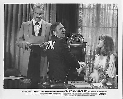 Blazing Saddles Original 1974 Studio Still Photo Mel Brooks Busty Robyn Hilton