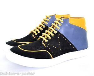MCQ-BY-ALEXANDER-McQUEEN-MENS-HIGH-TOP-TRAINERS-SNEAKERS-UK-10-EU-44-US-10-5