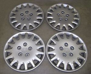 03 04 05 06 07 HONDA ACCORD WHEEL COVERS / HUB CAPS SET of 4 GENUINE FACTORY OEM