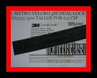 VELCRO 3M dual lock™ SJ3551 ADHESIVO / LARGO:1 METRO X ANCHO:25,4mm /...