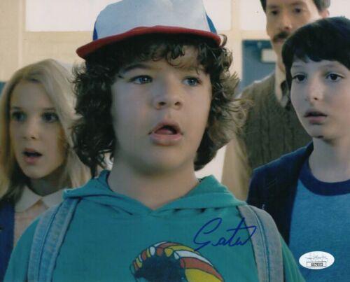 "Gaten Matarazzo Autograph Signed 8x10 Photo - Stranger Things ""Dustin"" (JSA COA)"