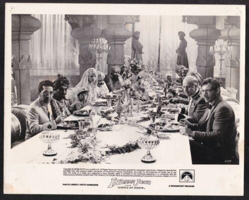 INDIANA JONES AND THE TEMPLE OF DOOM * ORG 84 B&W STILL #6 * STEVEN SPIELBERG