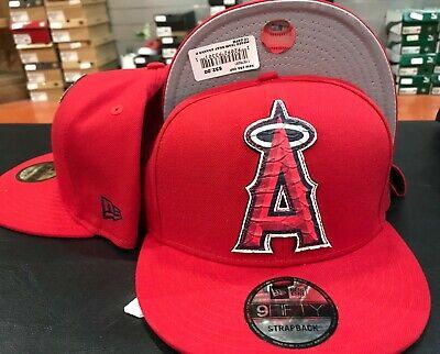New Era 9Fifty Anaheim Angels Pieced Team Strapback Team Color STRAPBACK -