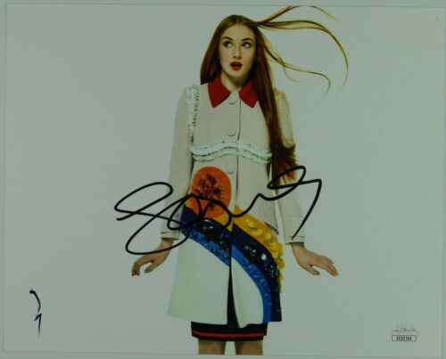 Sophie Turner Game Of Thrones Signed Autograph JSA COA 8 x 10