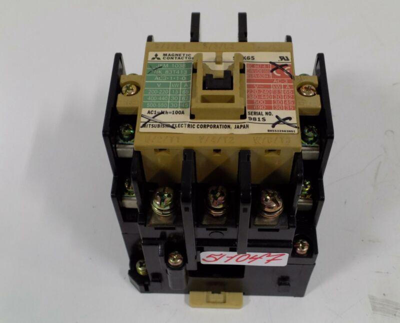 MITSUBISHI MAGNETIC CONTACTOR S-K65