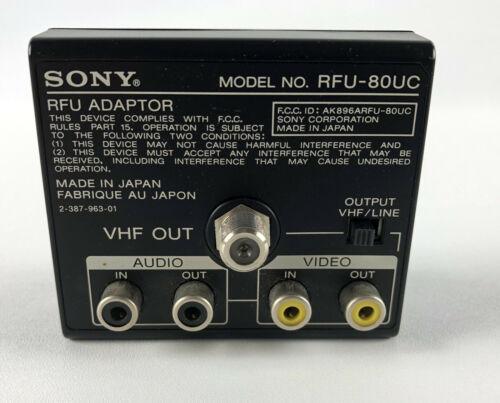 Sony RFU-80UC RFU Adapter for CCD-M8U Handycam Video Camera