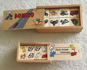 Lovely Wooden Dominoes Sets for sale Currambine Joondalup Area Preview