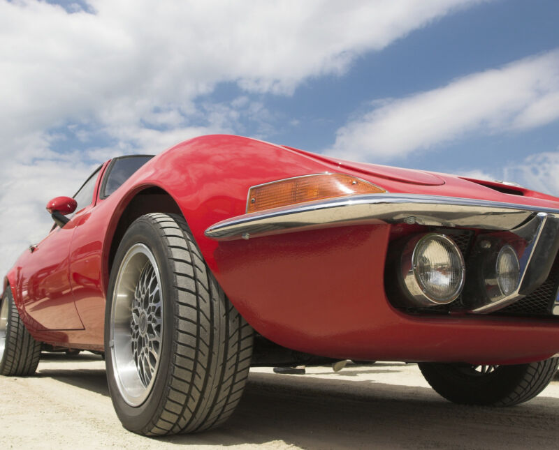 There's nothing like hitting the open road in a vintage sports car