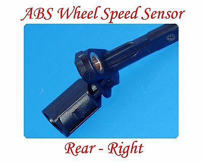 Audi Abs Speed Sensor - ABS Wheel Speed Sensor Rear Righ Fits: AUDI A3 TT VW BEETLE CC EOS GOLF JETTA &