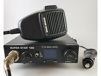 workman Super Star T747 CB Radio microphone TEST CENTER TESTER w//POWER CORD