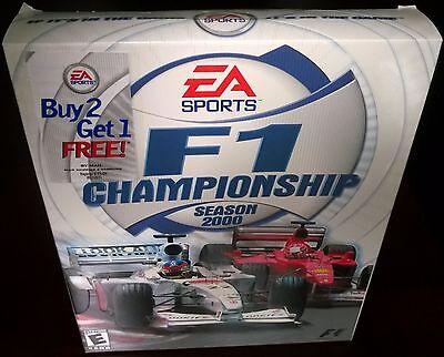 F1 Championship Season 2000, Racing, EA Sports (PC, 2000) NISB comprar usado  Enviando para Brazil
