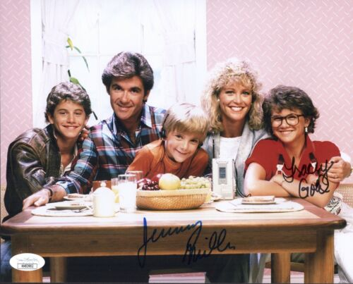 TRACEY GOLD & JEREMY MILLER Growing Pains Signed 8X10 Photo Autograph JSA COA
