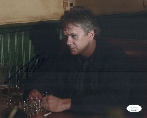 TIM ROBBINS Signed CLINT EASTWOOD's MYSTIC RIVER 8x10 Photo Autograph JSA COA