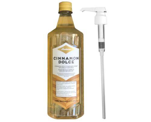 FRESH STOCK - Fontana for Starbucks Cinnamon Dolce Syrup with Pump