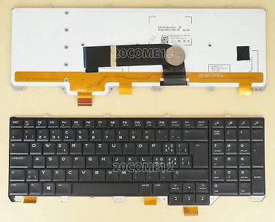 NEW for DELL Alienware 18 Generation Keyboard Backlit Swiss Tastatur