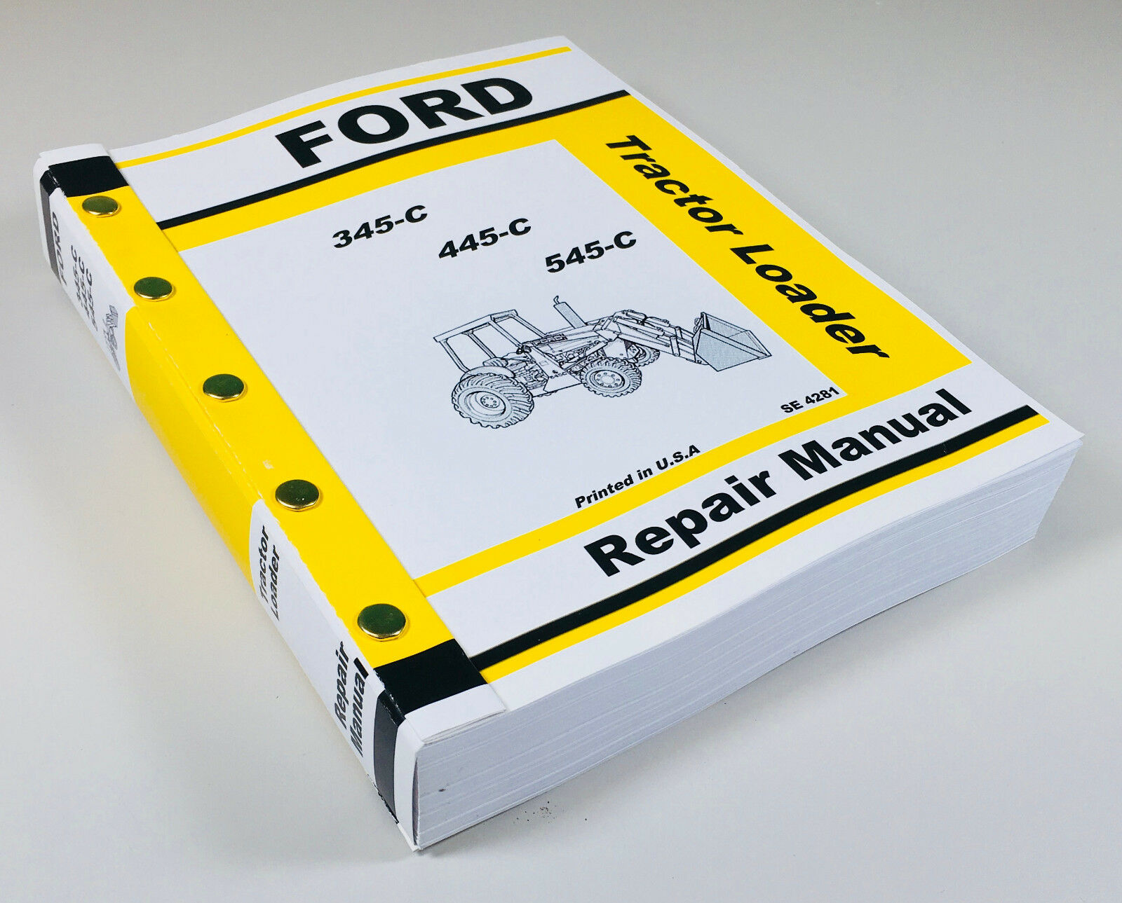 This is a new reproduction of the Factory Repair Manual