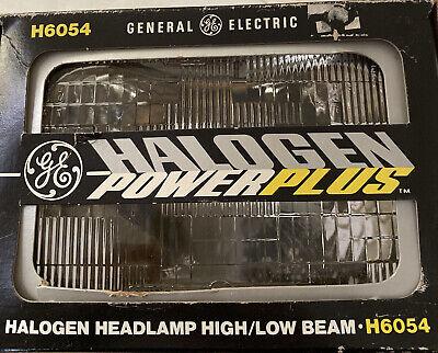 GE Lighting H6054 2 Headlamps  System 12V 1539941 NEW Halogen High/Low Beam
