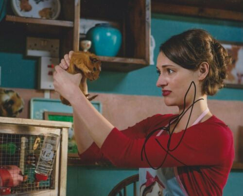 Phoebe Waller-Bridge Signed Fleabag 10x8 Photo AFTAL