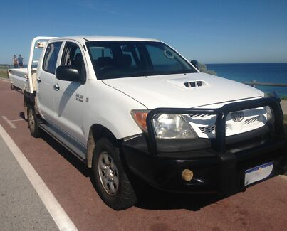 TOYOTA HILUX 2008  4X4 DUAL CAB 3.0L TURBO DIESEL LOW KS. $15999 South Perth South Perth Area Preview