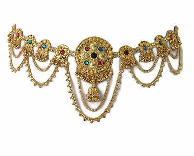 Belly Dance Costume Belt Fringe Tassel Chain Adjustable Turkish Arabian Egyptian](Arabian Dance Costume)