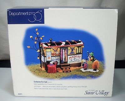 Dept 56 Snow Village Halloween Costumes for Sale 54973