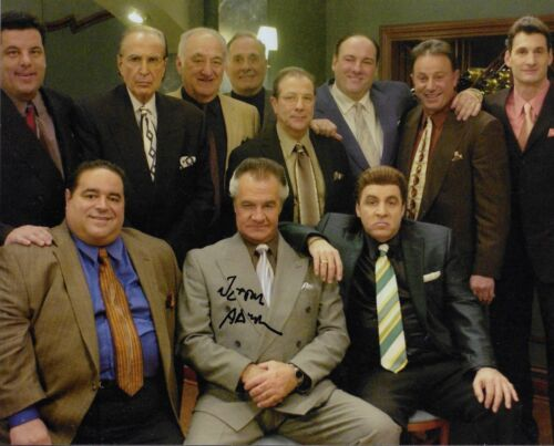 Jerry Adler THE SOPRANOS Signed 8x10 Photo COA Autograph Hesh Rabkin