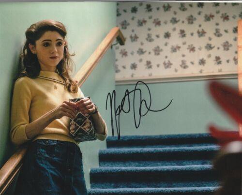 * NATALIA DYER * signed 8x10 photo * STRANGER THINGS * NANCY WHEELER * 5
