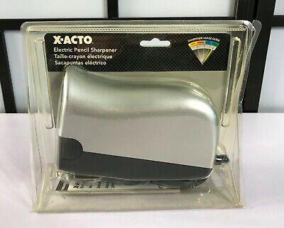 X-acto 1797 Deluxe Desktop Electric Pencil Sharpener Brand New