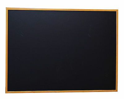 36x 48 Wood Framed Black Magnetic Chalkboard