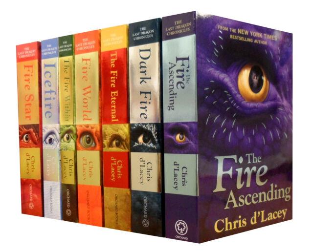 chris d lacey last dragon chronicles book 7