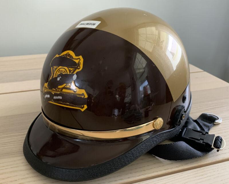 Vintage Police Motorcycle Helmet Utah? Size Small/Medium