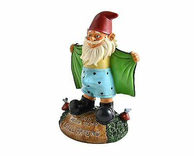 Perverted Garden Gnome Figure: Gnome Flashes Greeting -