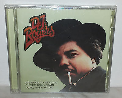 2 CD DJ ROGERS - IT'S GOOD TO BE ALIVE, ON THE ROAD AGAIN & LOVE, MUSIC &