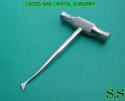 2 Pcs Cross Bar Dental Surgery Root Tooth Elevator Winter Cryer 11r 11l