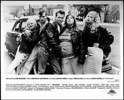 CRY BABY -1990- Original 8x10 Glossy Photo- TRACY LORDS, JOHNNY DEPP, AMY LOCANE