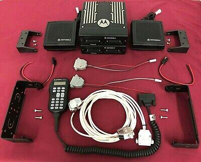 Motorola Xtl5000 W3 Vhfuhf700800900mhz P25 Dual Band Trunking Mobile Apx7500