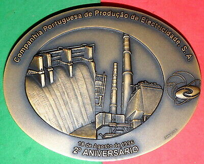ELECTRICITY / DAM / 2º.ANNIVERSARY OF PORTUGUESE ELECTRICITY COMPANY / -