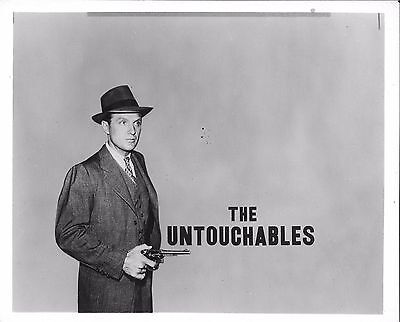 *THE UNTOUCHABLES (1959) Robert Stack as Elliot Ness Television Series 8x10